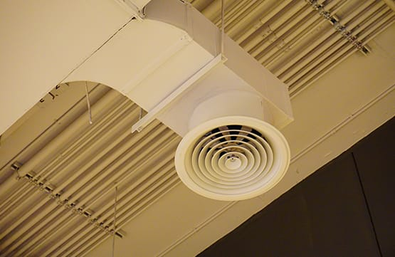 picture of clean high ceiling