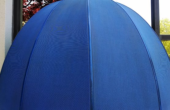 repaired arc canopy