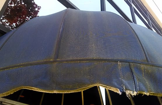 torned up arc canopy
